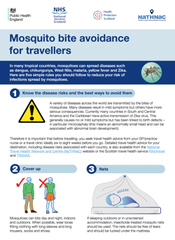 Mosquito Bite Avoidance for Travellers