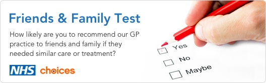 How likely are you to recommend The Hamilton Practice to friends and family if they needed similar care or treatment?